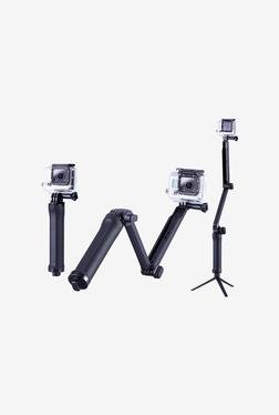 Neewer Three-way Monopod Stand Tripod Extension Arm (Black)