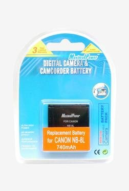 Maximal Power DB CAN NB8L Battery (Black)