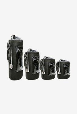 FotoTech BAG-SET Lens Pouch Bag (Black)