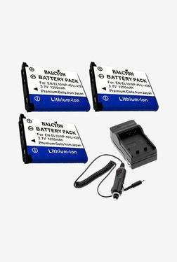 Halcyon LI-42B Battery & Charger (White & Violet)