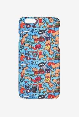 IAccy ASDI6P008 Super Hero's Case For IPhone 6+ (Multicolour)