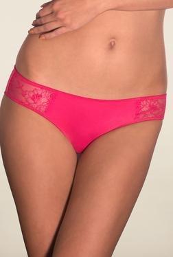 Amante Pink Lace Bikini Panty