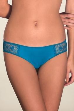 Amante Turquoise Lace Bikini Panty