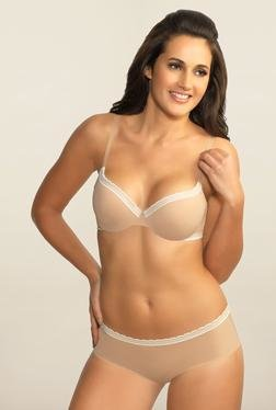 Amante Nude Seamless Hipster Panty