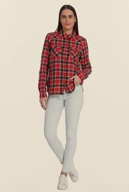 Vero Moda Ski Patrol Checks Shirt