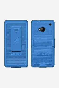 Amzer Shellster Shell Case For HTC One M7 (Blue)