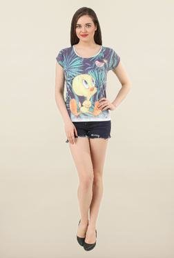 Tweety Multicolor Printed Cotton Top