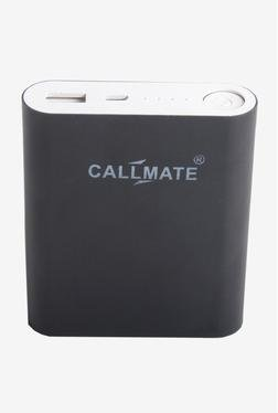 Callmate Alloy 10400 MAh Power Bank (Black)