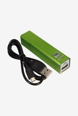 Callmate 2600 MAh Metal Power Bank (Green)