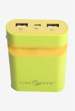 Callmate Mobile Holder 7800 MAh Power Bank (Green)