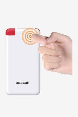Callmate N1 6000 MAh Power Bank (White)