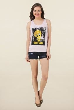 Tweety Tint Printed Tank Top