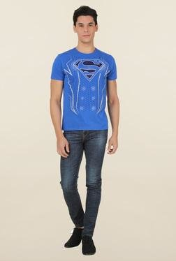 Superman Royal Blue Crew Neck T-Shirt