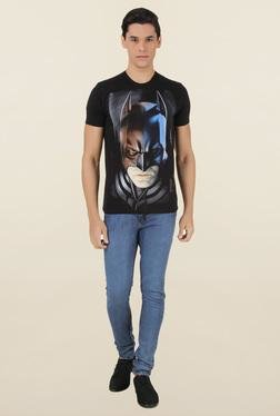 Batman Black Crew Neck Cotton T-Shirt
