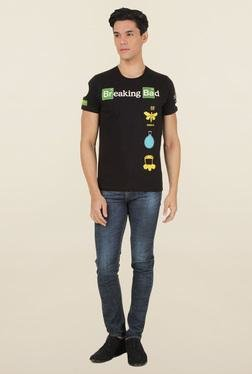 Breaking Bad Black Printed T-Shirt