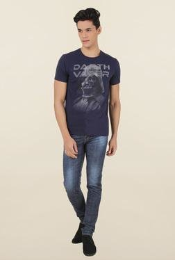 Star Wars Dark Navy Cotton T-Shirt