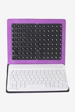 Callmate Bluetooth Keyboard With Cover For IPad (Purple)