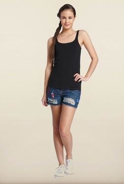 Only Black Solid Tank Top