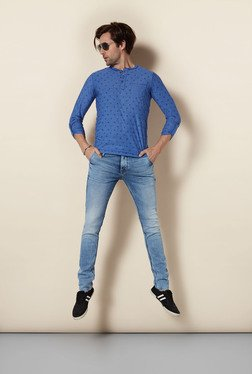 Killer Indigo Skinny Fit Jeans - Mp000000000055636