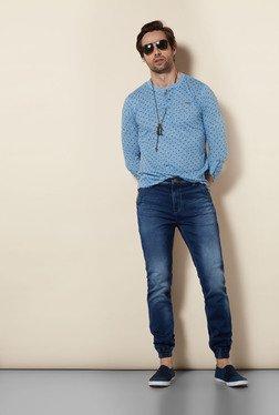 Killer Indigo Cotton Lycra Jeans