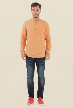Jack & Jones Orange Slim Fit Casual Shirt