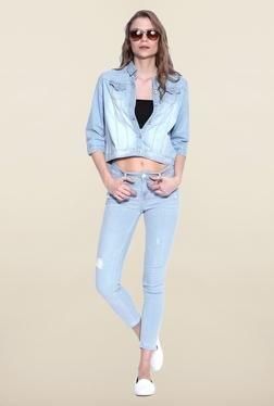 Kraus Light Blue Raw Denim Jeans