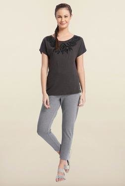 Only Black Round Neck T-Shirt