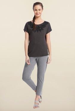 Only Black Round Neck T-Shirt