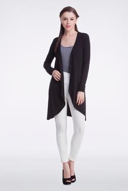 Femella Black Jersey Cardigan