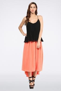 Femella Pink High Low Skirt
