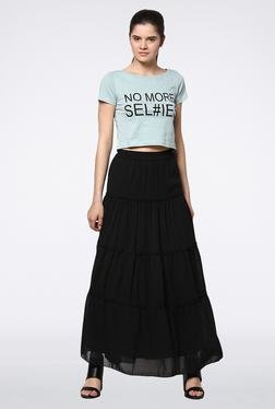Femella Black Maxi Skirt