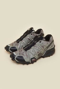Salomon Speedcross 3 Silver Running Shoes