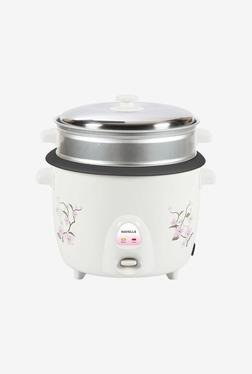 Havells Riso 1.8Ltr 700-Watt Electric Rice Cooker (White)
