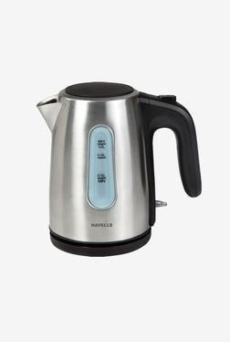 Havells Aquis-II 1 Liter Kettle (Silver)