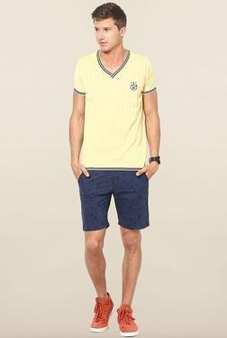 Jack & Jones Yellow Crew Neck T-Shirt - Mp000000000074707