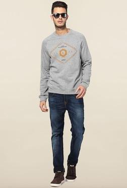 Jack & Jones Light Grey Crew Neck Sweatshirt