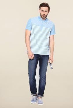 Jack & Jones Blue Washed Solid Jeans - Mp000000000075358