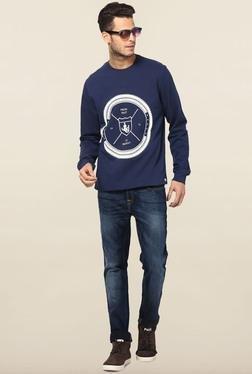 Jack & Jones Dark Blue Crew Neck Sweatshirt