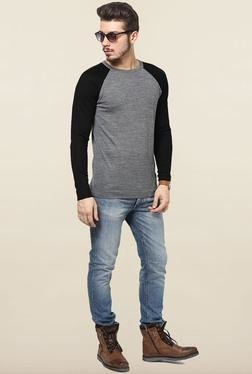 Jack & Jones Grey Slim Fit Sweatshirt