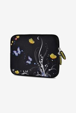 Amzer 10.5 Inch Neoprene Sleeve - Yellow Night Butterfly