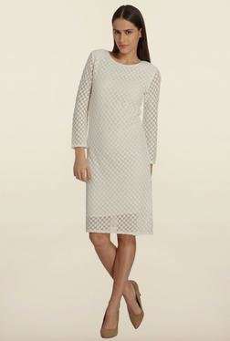 Vero Moda Snow White Lace Shift Dress
