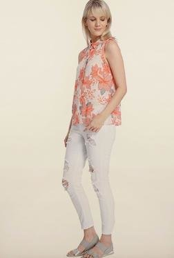 Vero Moda Pearl Floral Printed Casual Shirt