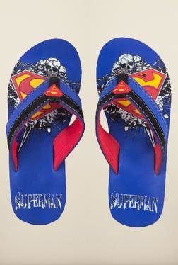 Superman Blue Flip Flops