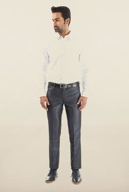 Shapes Navy Solid Chinos