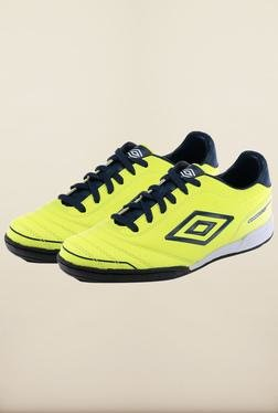 Umbro Classico 3 Yellow   Blue Football Shoes 073ce11ca47