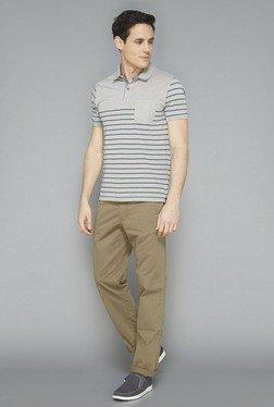 Westsport Mens Grey Striped T-Shirt