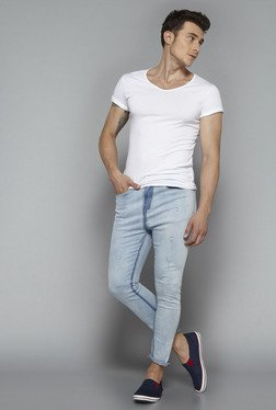 Nuon by Westside Light Blue Slim Fit Jeans