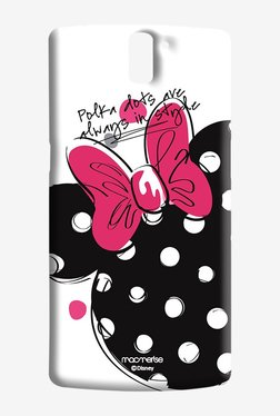 Macmerise Polka Minnie Sublime Case For Oneplus One