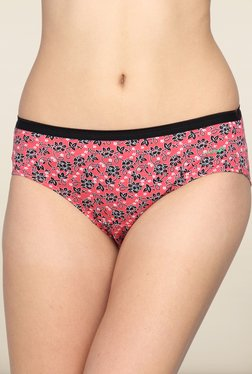 Lovable Pink Floral Printed Briefs (Pack of 3)