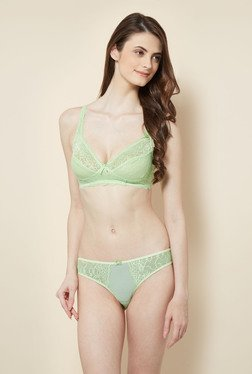 Little Lacy Green Lace Lingerie Set